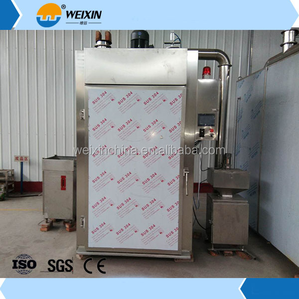 304 Stainless steel industrial meat smoker machine for sale