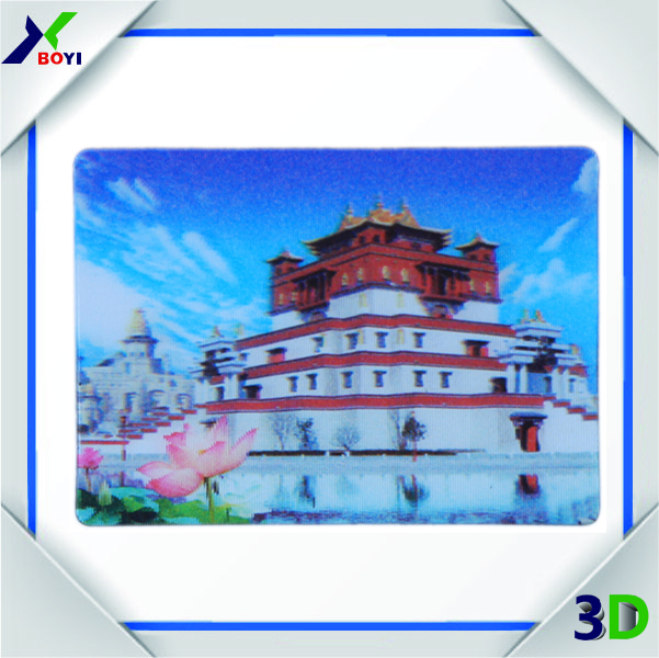 3d product 3d lenticular card with 3 images change effect