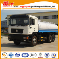Shacman 3 axles 10 tires Euro 4 12000--20000 liters water tank truck water tanker truck for sale