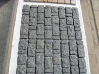 Cheap Black Granite Cube, Paving Stone & Light Grey Granite Paving Stone
