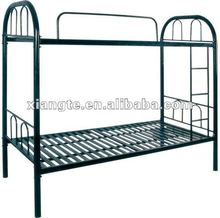high quality steel commercial furniture strong dorm bed for students/staff dormitory, metal schooll dormitory furniture