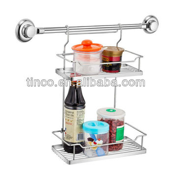 Suction Kitchen Spice Rack