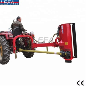 Garden tools compact tractor driven used PTO connect side shift sickle bar mulcher heavy grass cutter manufacturer flail mowers
