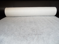 Plain Pattern Spunlace Nonwoven Fabric,Polyester Viscose Material Nonwoven Fabric