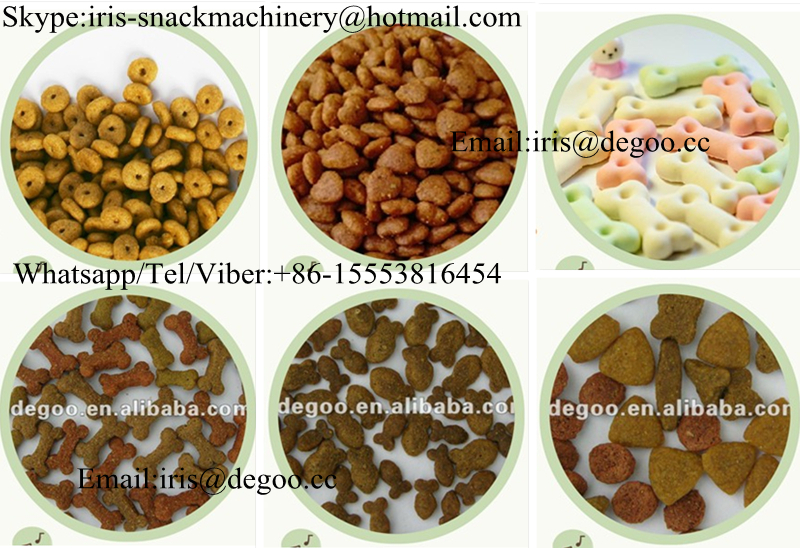 Jinan DG Pet food /Dog treats chews snack food extruding equipment /production line