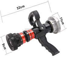 Pistol Grip Fire Jet Spray Nozzle For Fire Hose