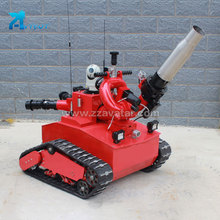 Hot selling products fire fighting robot design construction conclusion