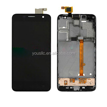 Replacement Mobile Phone Parts Full LCD Complete LCD Touch Screen Digitizer Assembly Frame For Alcatel One Touch Idol Mini 6012