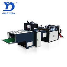 Sanyuan Factory computer controlled pe high speed vest shopping plastic t-shirt two lines bag making machine products price