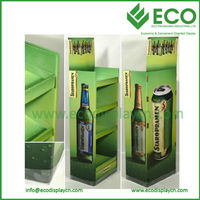 Cardboard Display Stands for Beer Bottles World Cup 2014 Promotional Item Use