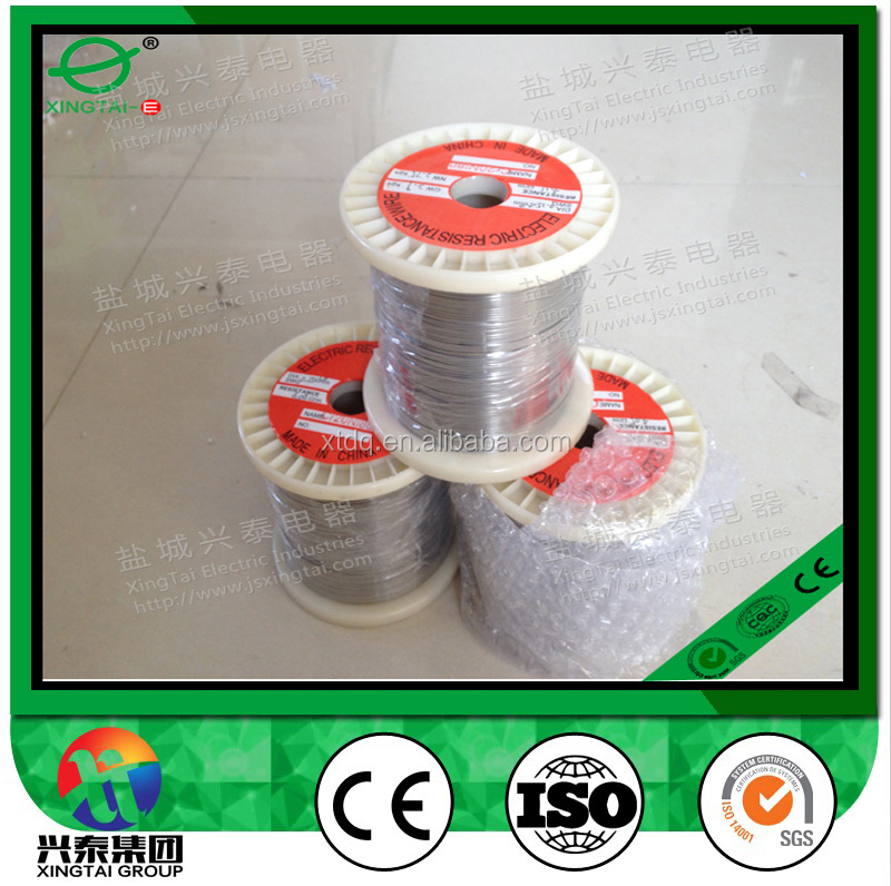 Cr20Ni80 nickel chromium heat resistance alloy wire