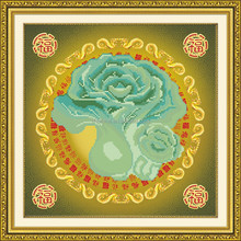 "'Lucky flower"" New 5D round crystal diy diamond painting"