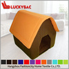 wholesale warm dog house with soft fabric, lovely dog house designs