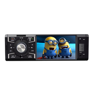 4 inch cheap factory price 1one din car mp5 stereo with bluetooth remote