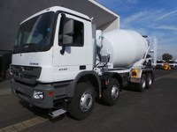Mercedes Benz Actros 4140 equiped with Stetter Schwing 12 cubic m Mixer