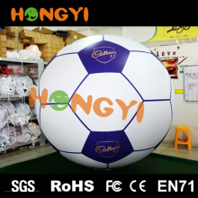 Large PVC inflatable soccer balloon outdoor kids toy plastic inflatable football for sport Game
