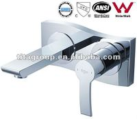 Wall-mounted Single Lever Basin Chrome Faucet