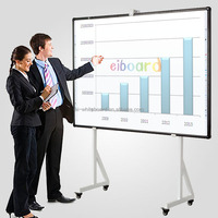FC electronic writing boards/electromagnetic interactive whiteboard for school teaching
