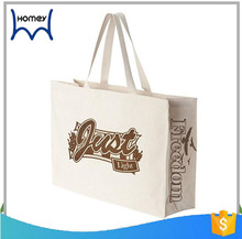 Promotional 20 oz heavy silk screen printing cotton canvas tote bag