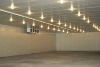 used prefabricated cold storage room for meat