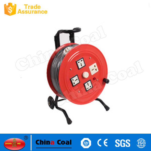 2017 Good Quality High-grade Aluminum Electric Retractable Cable Reel