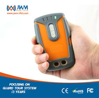 JWM GPS GPRS security Polaries guard tour rfid reader with SOS panic alarm