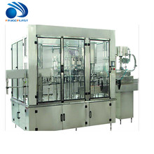 3-in-1 bottle washing filling capping machine / mineral water bottling plant