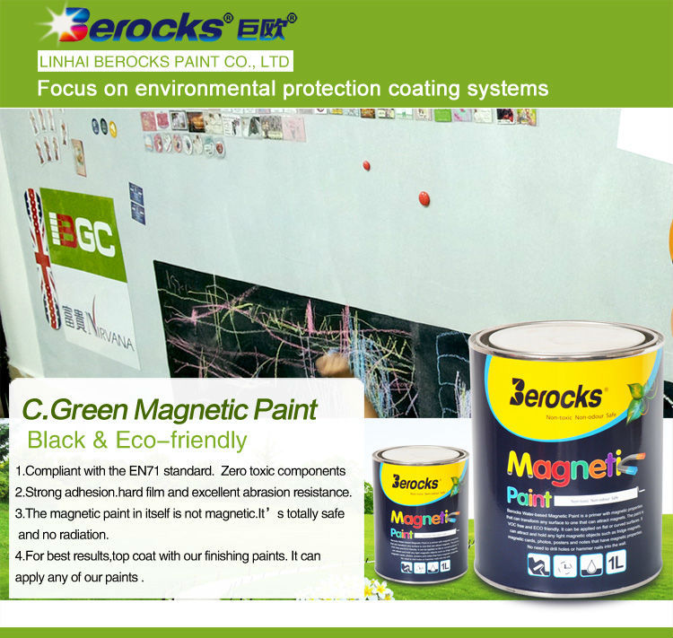 BEROCKS Hot sale Paramagnetic paint
