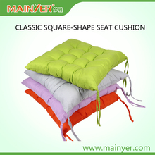 Square- Shape High Quality PP Cotton Seat Cushion for Chair