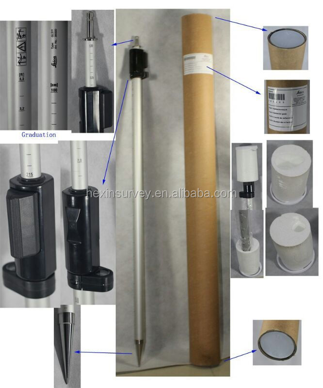 High quality 2.15m prism pole cheapest price