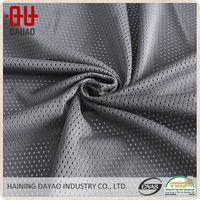 Dry fit sports team mesh fabric/100% polyester lining fabric