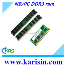 Best selling desktop/laptop memory 2gb 4gb 8gb ddr3 ram price in china in good condition