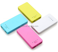 Portable USB 6000mAh External Mobile Battery Charger Power Bank for Mobile Phone