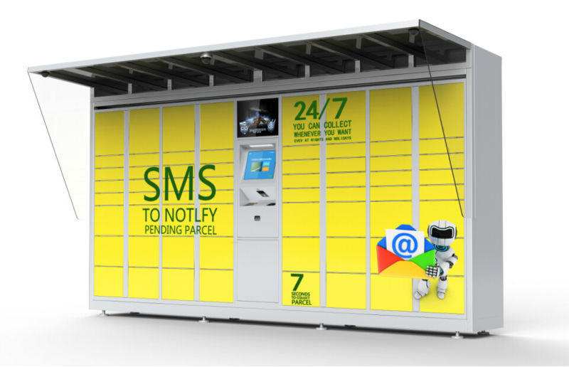 Customized intelligent parcel delivery locker