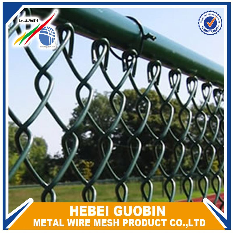 China Pvc Chain Link Fence For Playground