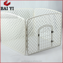 Expandable Wire Mesh Fencing Dog Kennel / Indoor Fencing For Dogs