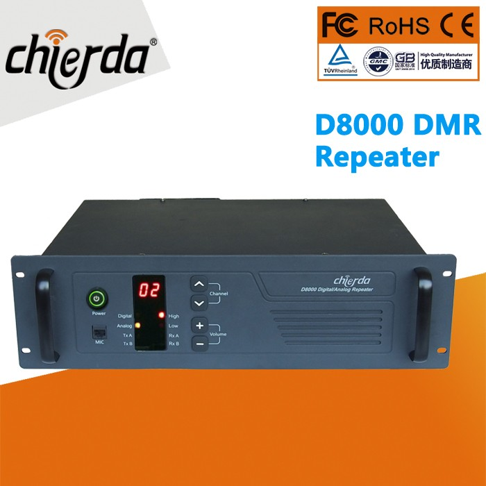 Chierda CD-D8000 DMR Base Station Rpeater Mobile Radio