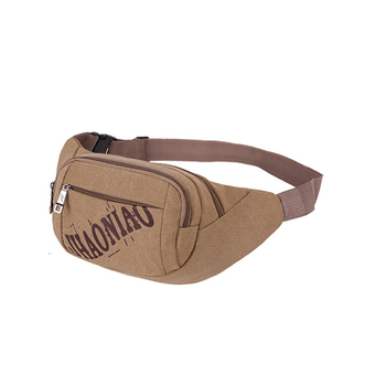 2017 hot selling fashion sports canvas travel waist bag women/men fanny pack wholesale Chinese products travel money belt