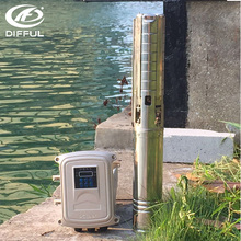 solar booster pump systems Submersible Solar deep well water pump for bore well
