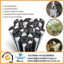 Fencing cage Mesh 20M Galvanised Garden Pet Chicken Coop Aviary Hatches Rabbit welded wire mesh