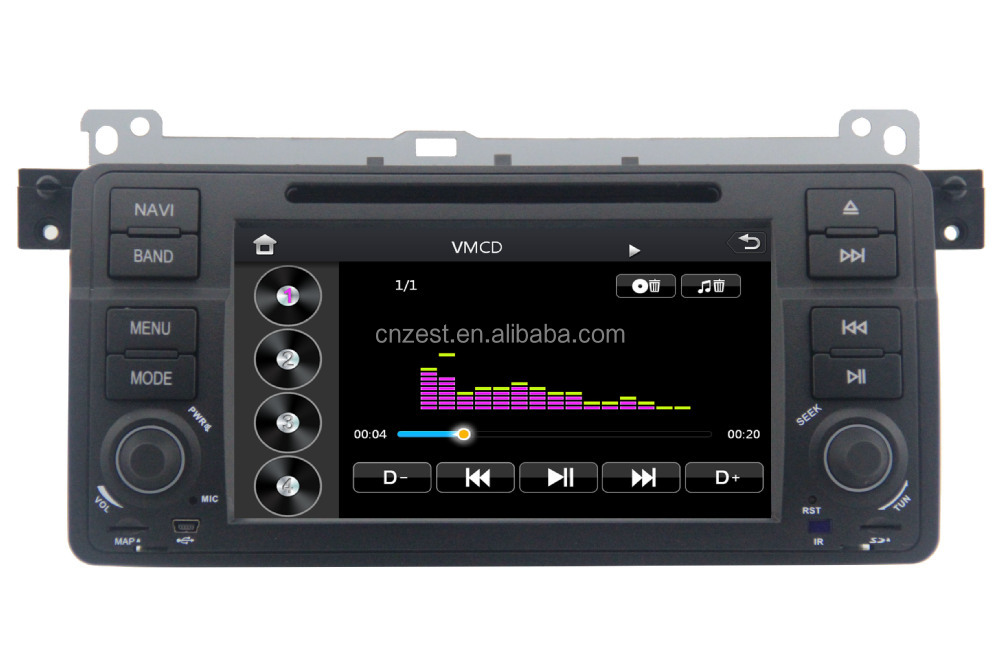 New WINCE system multimedia navigation system for BMW e46 with OBD2 DVD GPS 3G digital TV function
