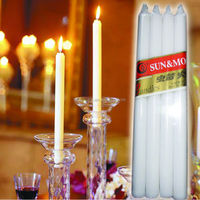 9-90g household white candle