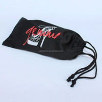 YT2006 Fashion microfiber printing glasses drawstring pouch