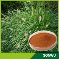 natural horsetail grass extract Cas No:1343-98-2 Silica acid 7%, 2%,10:1