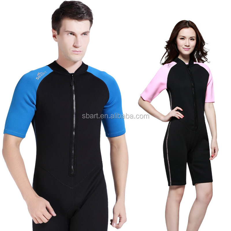 top sales neoprene smooth skin wetsuit top, neoprene shorty swimsuit, neoprene smooth skin pants