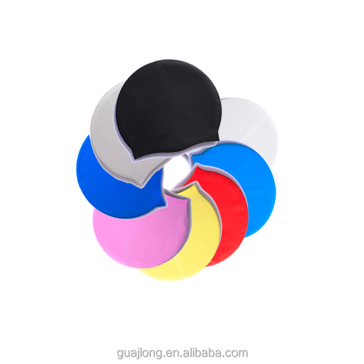 Wholesale custom LOGO Adult child Silicone swimming caps