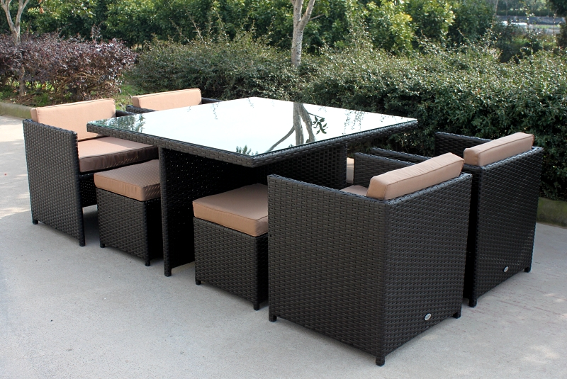 all weather synthetic plastic rattan outdoor woven furniture outdoor