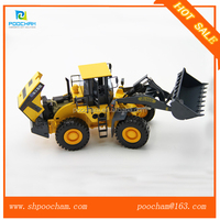 1:35 Scale Model, Zinc Alloy Diecast Construction Model, XCMG ZL50G Wheel Loader Model
