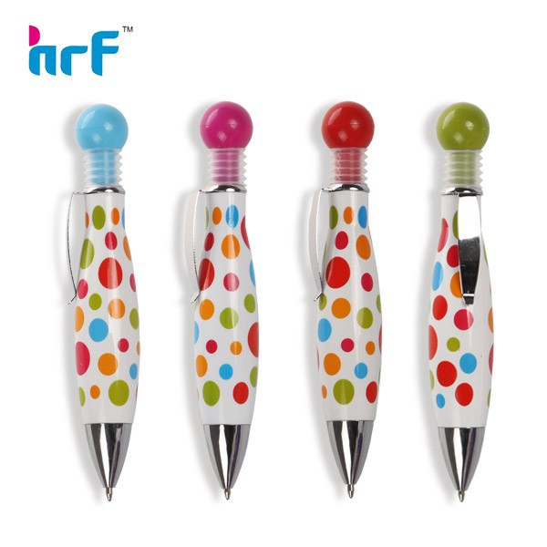 2013 Lovely Promotion Fat Fountain Pen With Dot Printing