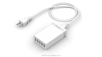 5 ports usb wall travel charger